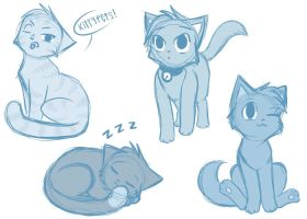ThunderClan Apprentices by Cape-Cat