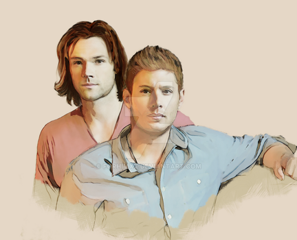 Sam and Dean by Forhimxx