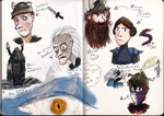 How To Train Your Dragon (Book) Doodles :) by goodkitkat99