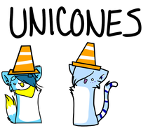 UNICONES by Radioactive-Demon
