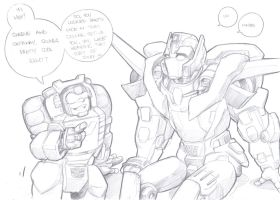 swerve and getaway sketch by prisonsuit-rabbitman