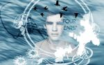 Divergent Wallpaper: Brenton Waites - Four by christianjames2