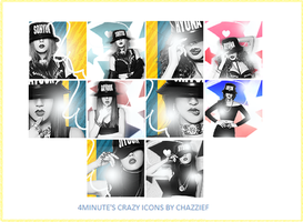 ICONS: 4MINUTE by chazzief