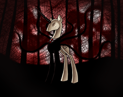 Slendermane by ElectricHalo