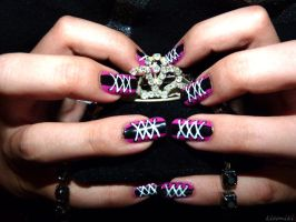 Goth Nails by Kleoniki