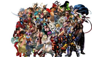 incomplete fight collage by jinxonhog