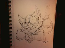 Ziggs by kidbrainer