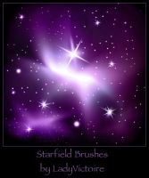 Stars Brushes 3 by LadyVictoire-Brushes