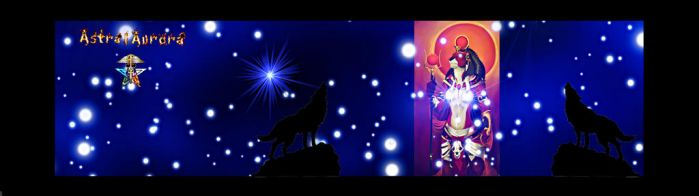 I am a Lone Wolf no more- Twitter Banner by AstralAurora