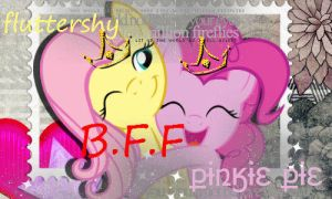 fluttershy and pinkie pie by gadoo12