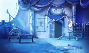 Lullaby for a Princess - Luna's room background by cmaggot