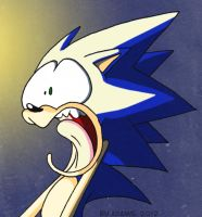 AT : Surprised Sonic by ThePandamis