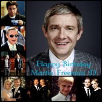 Martin Freeman Birthday :D by holster262