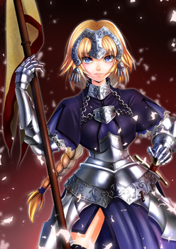 fate Joan of Arc by Amayofoo