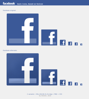 Facebook HiRes icons by Shimmi1