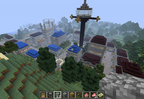 Minecraft: New Terrawood City by C-MaxisGR