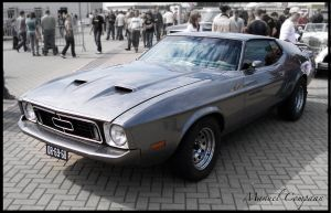 1972 Ford Mustang Mach 1 by compaan-art