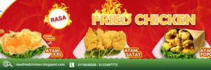 Fried Chicken Final @ 90cm X 26cm by amanzee