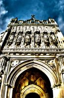 Gloucester Cathedral Entrance by sk8-element