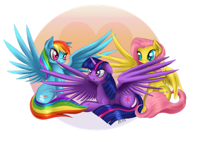 Preening Bliss by TheNornOnTheGo