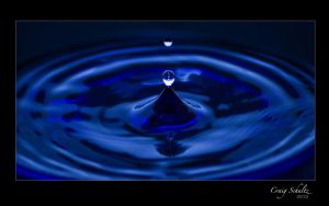 Water drops by dx