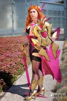 Popstar Leona - LoL - based on Loiza art by Daraya-crafts