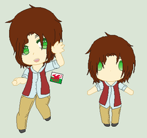 Hetalia OC- Wales by MapleBeer-Shipper