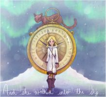 Golden Compass by RinTheYordle