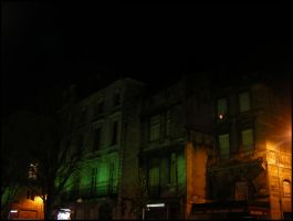 Green old houses by nyc0