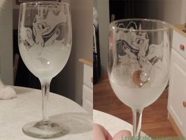 Luna wineglass by Letator