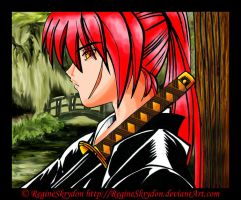 Kenshin - Pondering by RegineSkrydon
