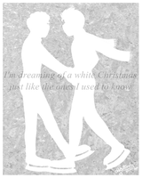 White Christmas - Klaine by OhhButterfly