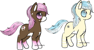 MLP Adoptables! -Closed- by Apples-Adopts