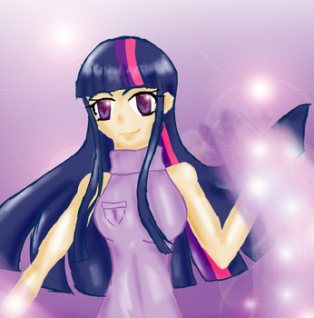 Twilight Sparkle human by MyooM
