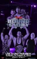 TNA Bound For Glory 2012 Poster by LockdownGFX