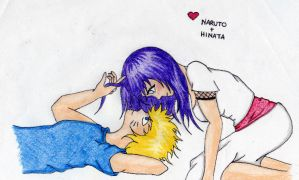 Naruto and Hinata by steffi-chan