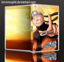 Naruto Shippuden Ultimate Ninja Heroes 3 Box Art by terrencephil