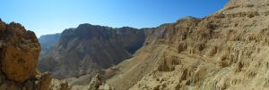 The dead sea panorama by omeriko
