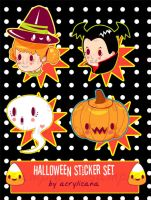 Halloween Stickers by marywinkler