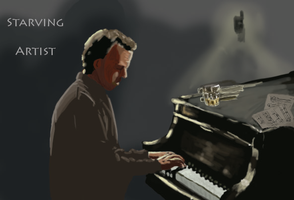 House MD -Starving Artist- by AquaticFishy