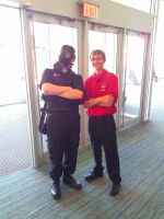 NF Comicon : Me and Security by TheWarRises
