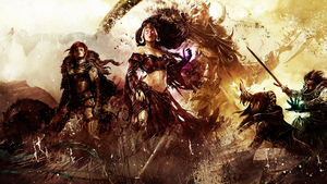 Guild Wars 2 Intense Wallpaper by ildari0n