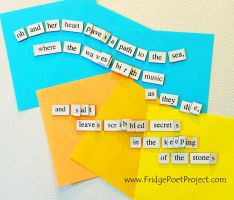 The Daily Magnet #274 by FridgePoetProject