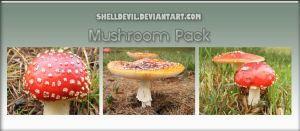 Mushroom Pack 8 by shelldevil