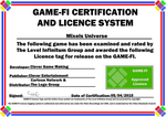 Mixels Universe Game-Fi Certificate by LevelInfinitum