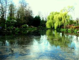 Claude Monet: Waterscape by virunee