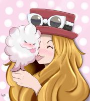Serena and Swirlix by GuzmanJose