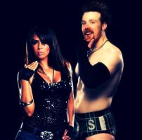 Sheamus-Layla Graphic by verusImmortalis