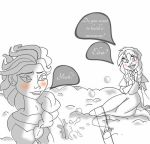 Elsa/Anna Do you want to build a snowman? by Jenif