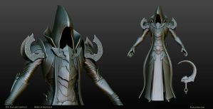Malthael - Diablo III Fan Art Contest Sculpt by KoraxArt